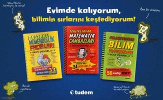 Kitap | Çocuklar evde sıkılmasın, heyecan verici deneyler ile bilime yakınlaşın
