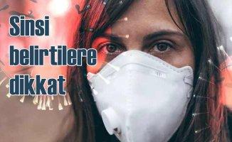 Koronavirüs belirtileri | Yanma ve kızarıklık varsa dikkat