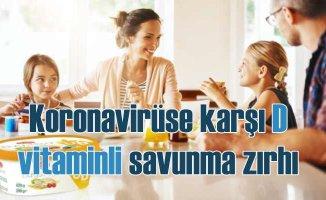 Koronavirüse karşı D vitamini duvarı