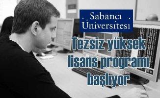 Sabancı Üniversitesi'ndenİş Analitiği Tezsiz Yüksek Lisans Programı