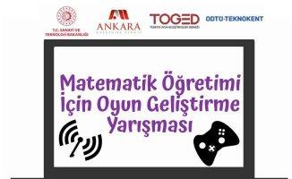 TOGED'in desteklediği matematik öğretimi için oyun geliştirme yarışması