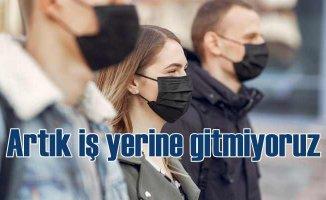 Türkiye adeta eve kapandı | İşe yüzde 45 daha az gittik