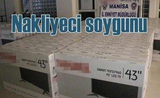 TV fabrikasından TIR dolusu organiza hırsızlık