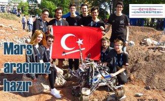Üniversite öğrencilerinin büyük başarısı | Mars keşif aracı dünya finalinde