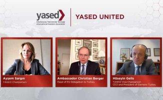 Büyükelçi Christian Berger YASED United'ın konuğu oldu