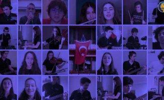 FMV Işık Okulları'ndan 19 Mayıs'ta renkli kutlama