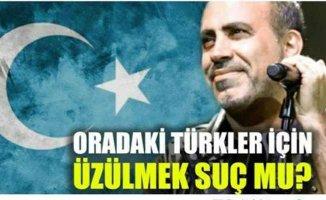 Haluk Levent'in Doğu Türkistan mesajı ortalığı karıştırdı