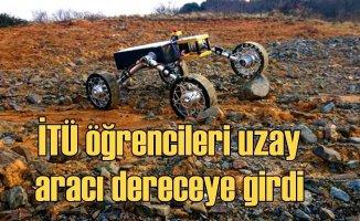 İTÜ'nün uzay sahası aracı Türkiye'ye derece getirdi