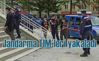 Kadınların kurduğu hırsızlık çetesini jandarma yakaladı