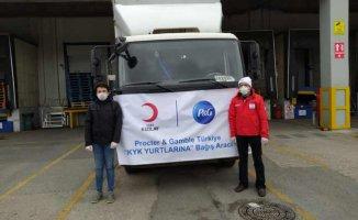 P&G 7.5 Milyon lira değerinde destek paketi hazırladı