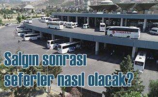 Salgın sonrası şehirler arası otobüs seferleri nasıl olacak?