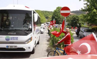 Sarıyer'de 19 Mayıs Bayramı coşkusu