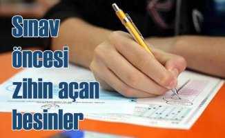 Sınav günü nasıl beslenmeli? Sınavdan önce zihin açan besinler