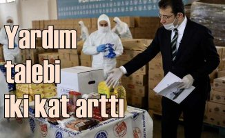 Sosyal yardım talebi İstanbul'da iki kat arttı