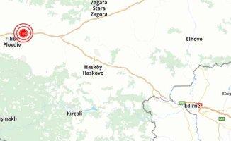 Trakya'da korkutan deprem | Bulgaristan 4.7 ile sallandı