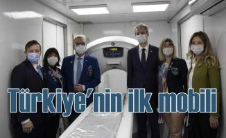 Türkiyen'nin ilk mobil tomografi cihazı hizmete alındı