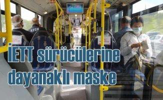 İETT şoförlerine cerrahi maskeler dağıtılıyor