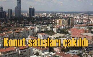 İstanbul'da konut satışları yarı yarıya azaldı