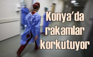 Konya'da koronvirüs kabusu korkutuyor | Tüm hastaneler pandemiye ayrıldı