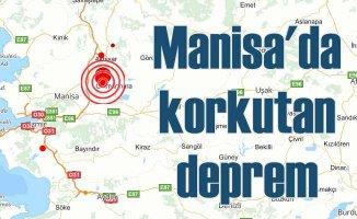 Manisa'da deprem, Ege Bölgesi'ni salladı