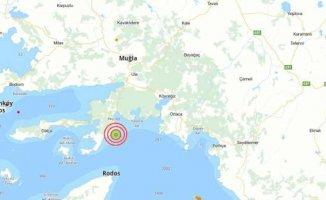 Marmaris'te deprem | Muğla Marmaris 5.6 ile sallandı
