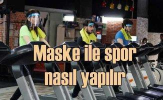 Maske ile spor nasıl yapılır | Sigara içenlere uyarılar