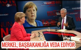 Merkel koltuğunla vedalaşıyor