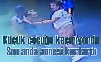 Antalya'da çocuk kaçırma girişimi | Annesi son anda önledi