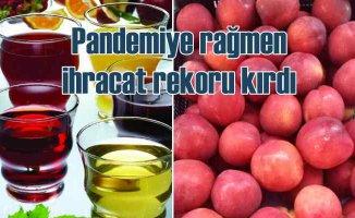 EİB | Pandemiye rağmen taze meyve sebze ihracatında rekor