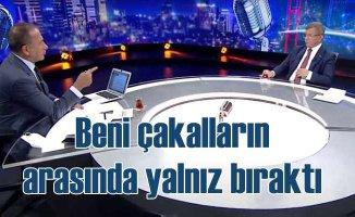 Fatih Altaylı, yıllardır eleştirdiği Davutoğlu'nu ekrana çıkardı
