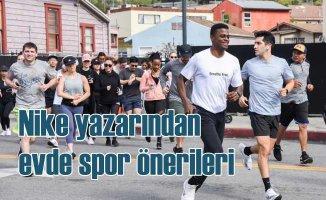 Spor Antrenörü Joe Holder'dan evde egzersiz önerileri