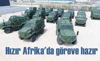 Türk Zırhlı Muharebe Aracı HIZIR'lar Afrika Yolunda