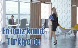 Türkiye, dünyada konut fiyatlarıen çok ucuzlayan ikinci ülke