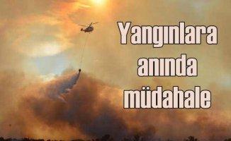 Bursa ve Muğla yangınları kısa sürede kontrol altına alındı