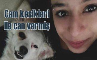 Ceyda Yüksel cinayeti | Genç kız camları yumruklamış