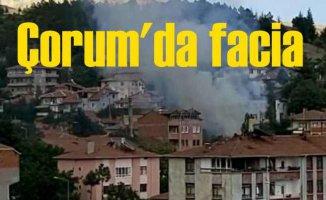 Çorum Bayat ilçesinde yangın faciası, 5 ölü var