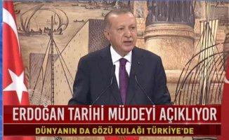 Erdoğan Müjdeyi açıklıyor | Tarihin en büyük doğalgaz keşfi