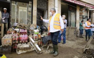 Giresun'da yapılan doğal afet incelemesi raporlanacak