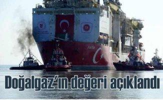 Karadeniz'de bulunan doğalgaz'ın değeri açıklandı