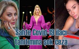 No Attack sahtekarlığı | Sahte Covid-19 ilacı tanıtan ünlülere ceza