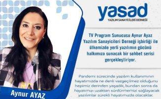Türk yazılım sektörü gençlere başarı hikayelerini Aynur Ayaz ile anlatacak