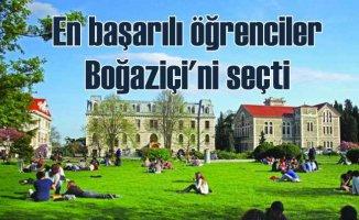 Türkiye'nin en başarılı öğrencileri yine Boğaziçi'nde