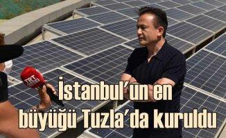 Tuzla Belediyesi, İstanbul'un en büyük Güneş Enerjisi Santrali'ni kurdu