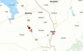 Aksaray'da deprem, Aksaray Akçakent 4.4 ile sallandı