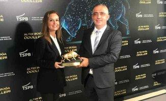 Anadolubank'a Birincilik Ödülü