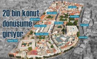 Bursa'da 20 bin konut kentsel dönüşümle yenilenecek