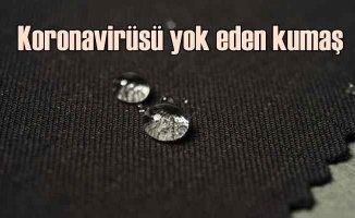Covid 19 virüsünü yok eden kumaş Bursa'dan çıktı