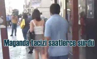 İstiklal Caddesi'nde maganda tacizini polis durdurdu