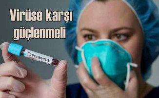 Koronavirüse Karşı Bağışıklık Kalkanı Oluşturun