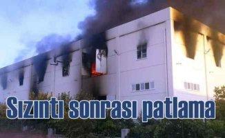 Kuruyemiş fabrikasında patlama, 2 işçi can verdi
